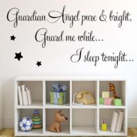 Guardian Angel Pure & Bright ~ Wall sticker / decals